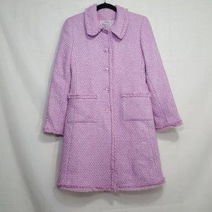 Marvin Richards button up peacoat pink size 4P